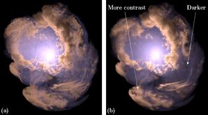 Comparison with Path Tracing (Supernova)